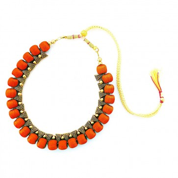 Yellow Beads Necklace